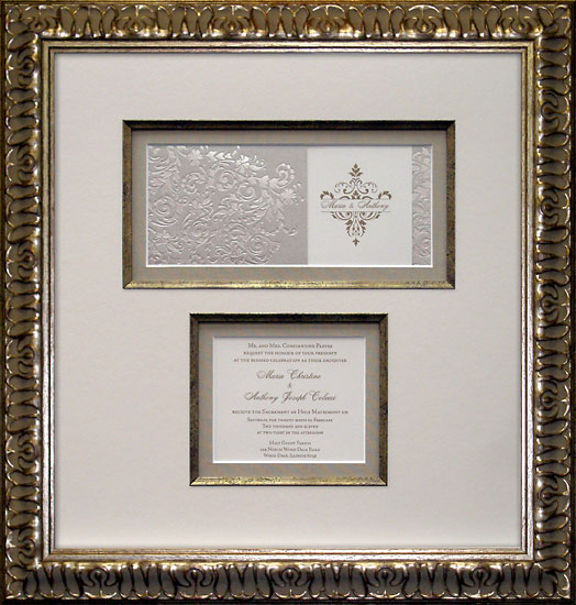 custom framing for wedding gifts the art place